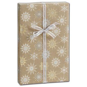 Snowflake Sky Gift Wrap, 30