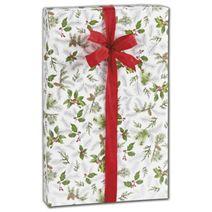 """Glistening Pine Gift Wrap, 30"""" x 208'"""