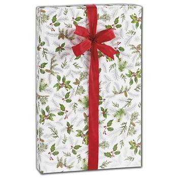 Glistening Pine Gift Wrap, 30