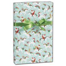 "Merry Unicorns Gift Wrap, 30"" x 417'"