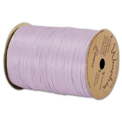 """Matte Wraphia Lavender Ribbon, 1/4"""" x 100 Yds"""