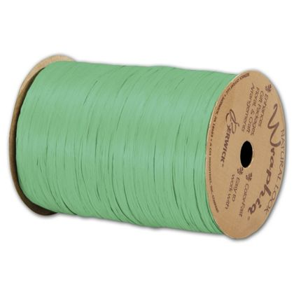 "Matte Wraphia Citrus Ribbon, 1/4"" x 100 Yds"