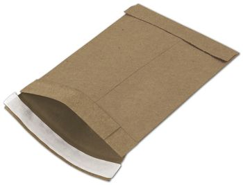 Natural Kraft Jiffy Self-Seal Padded Mailers, 6 x 10