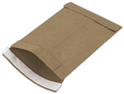Natural Kraft Jiffy Self-Seal Padded Mailers, 6 x 10""