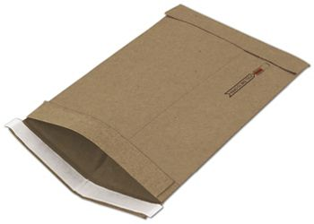Natural Kraft Jiffy Self-Seal Padded Mailers, 7 1/4 x 12
