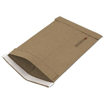 Natural Kraft Jiffy Self-Seal Padded Mailers, 7 1/4 x 12""