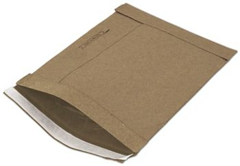 Natural Kraft Jiffy Self-Seal Padded Mailers, 8 1/2 x 12
