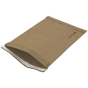 Natural Kraft Jiffy Self-Seal Padded Mailers, 10 1/2 x 16