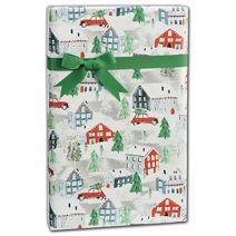 "Christmas Town Gift Wrap, 24"" x 208'"