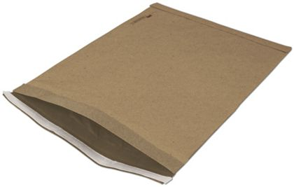 Natural Kraft Jiffy Self-Seal Padded Mailers, 12 1/2 x 19""