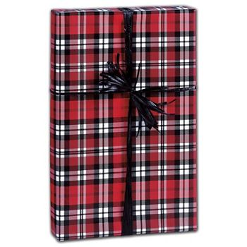 Authentic Plaid Gift Wrap, 30