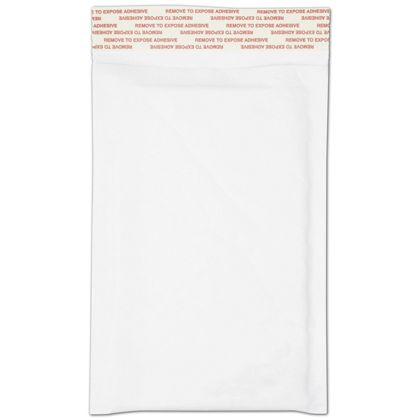 White Self-Seal Bubble Mailers, 4 x 8""