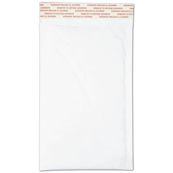 White Self-Seal Bubble Mailers, 5 x 10