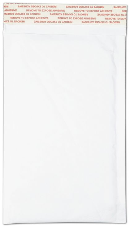 White Self-Seal Bubble Mailers, 5 x 10""
