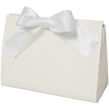 """White Gloss Purse Style Gift Card Holders, 8x3 1/2x5 1/2"""""""