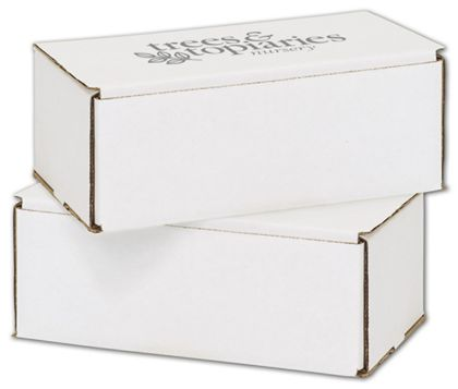 """White Mailers, 1 Color/1 Side Exterior, 8 x 6 x 3"""""""