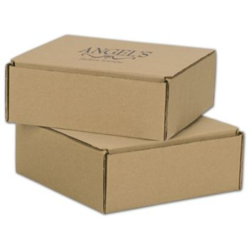 Kraft Mailers, 1 Color/1 Side Exterior, 8 x 8 x 3