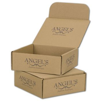 Kraft Mailers, 1 Color/Top Interior/3 Side Exterior, 8x8x3