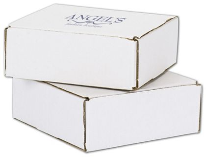 White Mailers, 1 Color/1 Side Exterior, 8 x 8 x 3""