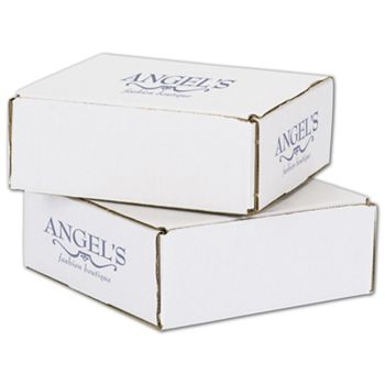 White Mailers, 1 Color/3 Sides Exterior, 8 x 8 x 3