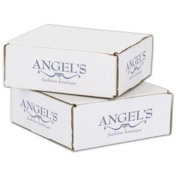 White Mailers, 1 Color/4 Sides Exterior, 8 x 8 x 3