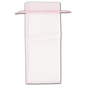 Pink Organza Bags, 6 1/2 x 15