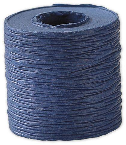 "Crinkle Paper Navy Ribbon, 1 1/2"" x 25 Yds"