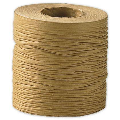 "Crinkle Paper Kraft Ribbon, 1 1/2"" x 25 Yds"