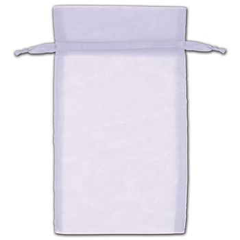 Lavender Organza Bags, 5 x 7