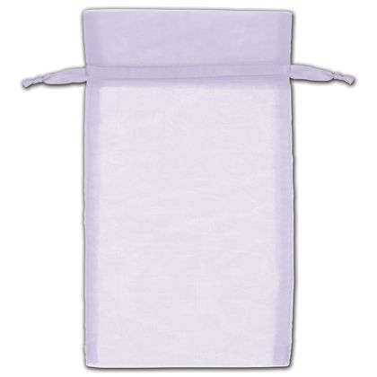 "Lavender Organza Bags, 5 x 7"""