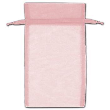 Mauve Organza Bags, 5 x 7
