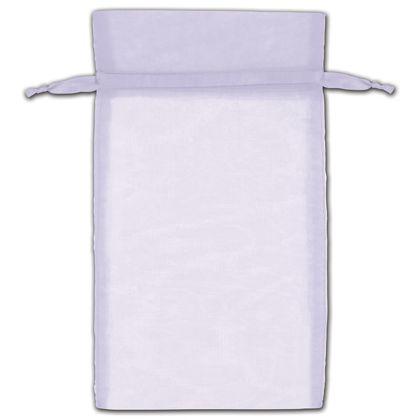 "Lavender Organza Bags, 6 x 10"""