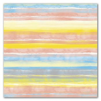 Painted Stripe Gift Wrap, 30