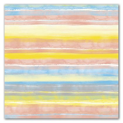 "Painted Stripe Gift Wrap, 30"" x 208'"