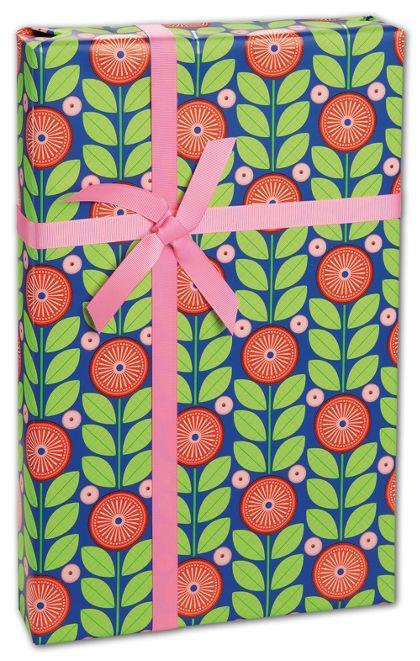 """Full Bloom Gift Wrap, 24"""" x 417'"""