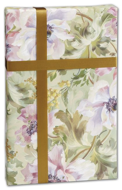 "Painterly Gift Wrap, 30"" x 417'"