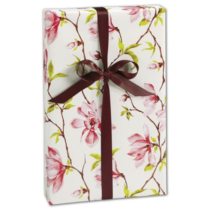 """Magnolia Gift Wrap, 30"""" x 208'"""