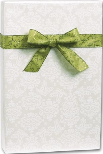 Pearl Damask Gift Wrap, 30
