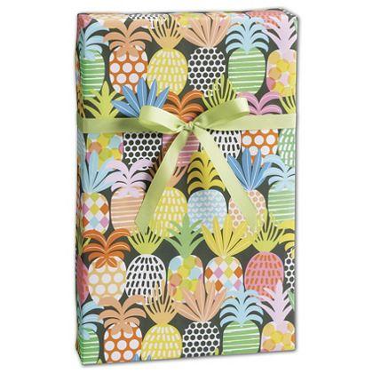 "Pineapple Pop Gift Wrap, 30"" x 417'"