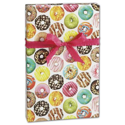 "Donuts Gift Wrap, 30"" x 208'"