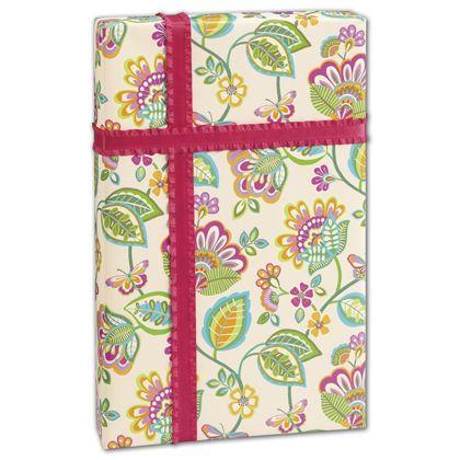 "Deco Flower Gift Wrap, 30"" x 208'"