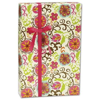 Happy Flower Gift Wrap, 30