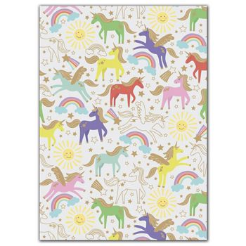 Unicorn Gift Wrap, 30