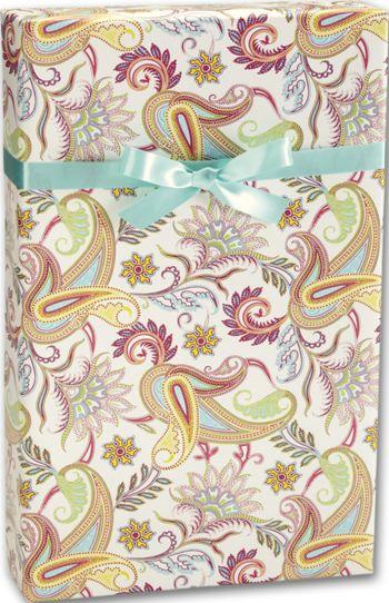 Paisley Gift Wrap, 30