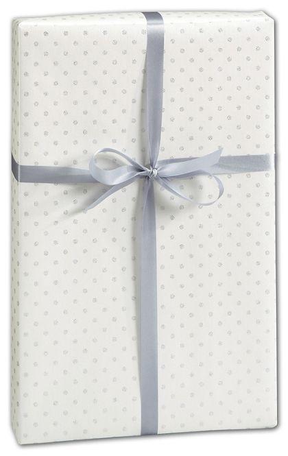 "Glitter Dot Gift Wrap, 30"" x 417'"
