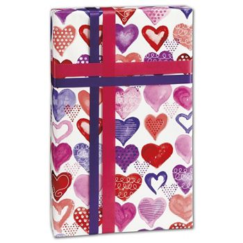 "Lovely Lovely Gift Wrap, 30"" x 208'"