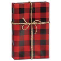 "Buffalo Plaid Gift Wrap, 30"" x 208'"