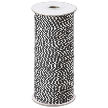 Black and White Premium Bakers Twine, 2 MM x 250 Yds