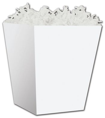 White Sweet Treat Boxes, 4 x 4 x 4 1/2