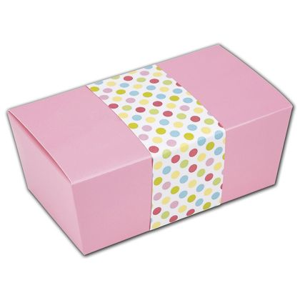 """Spring Dots Belly Bands, 2 1/8 x 14"""""""